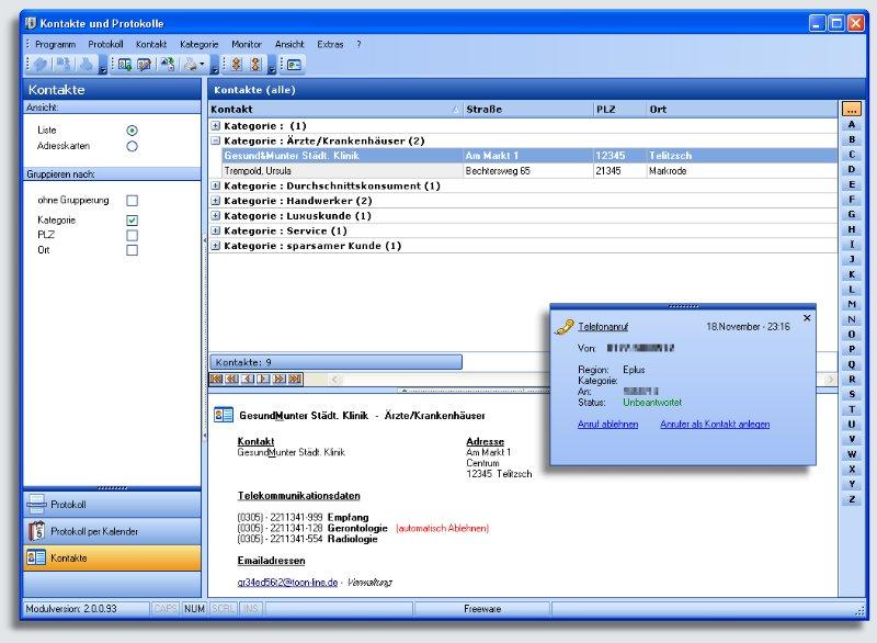 tiart ISDN-Monitor